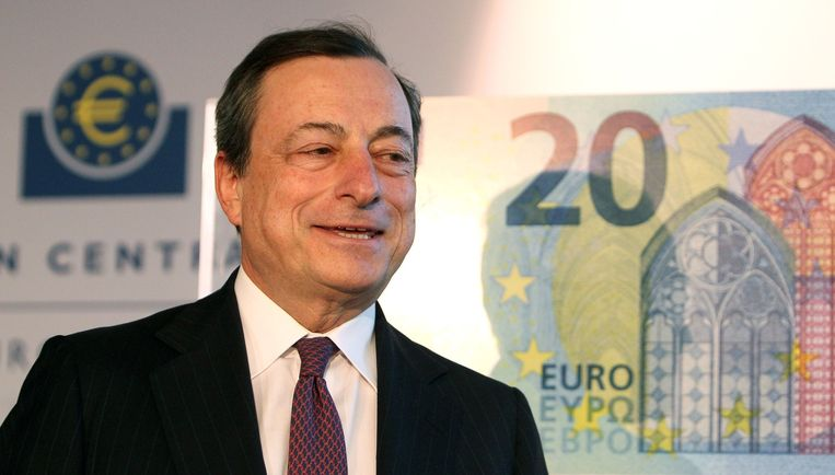 ECB-president Mario Draghi Beeld afp