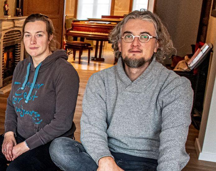 Eveline d'Hanens en Frederik Turpyn zijn de drijvende krachten achter de vzw