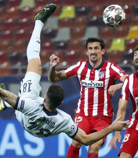 Un bijou de Giroud et Chelsea prend une option sur l'Atlético, le Bayern gifle la Lazio