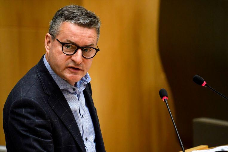 Koen Van den Heuvel, CD&V-burgemeester in Puurs, heeft Anne-Marie Morel voorgesteld als kandidaat voor de komende gemeenteraadsverkiezingen. Beeld BELGA