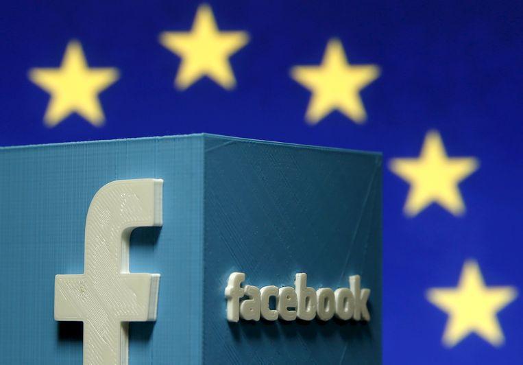 Europa pleit al langer voor meer transparantie van internetgiganten zoals Facebook. Beeld REUTERS
