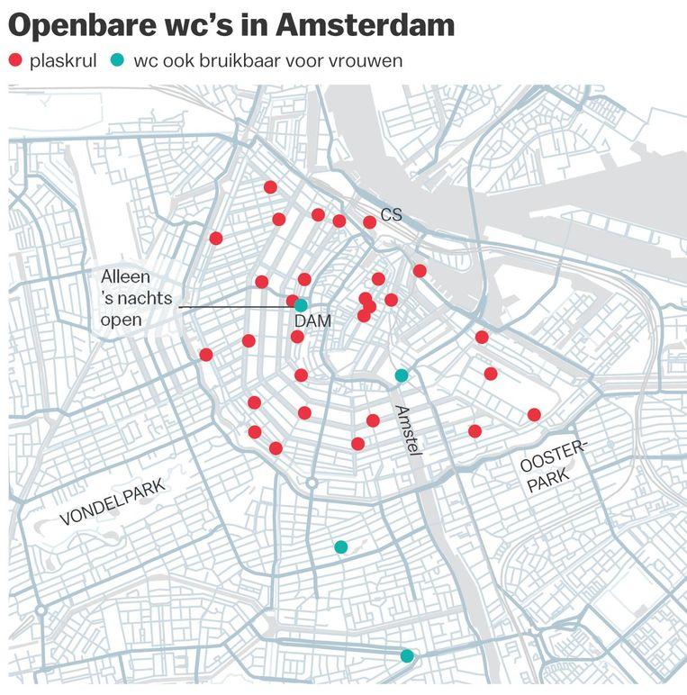 Openbare wc's in Amsterdam Beeld Jorris Verboon