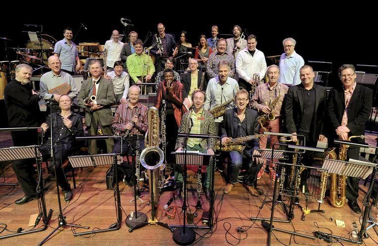 David Kweksilber Big Band Beeld Pieter  Boersma