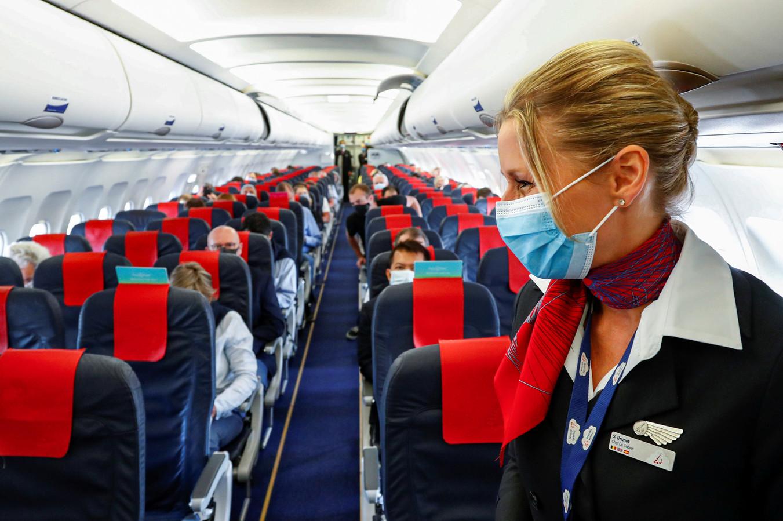 """Une trentaine de membres du personnel de cabine de Brussels Airlines observeront mardi un mouvement de grève """"symbolique"""" d'une journée."""