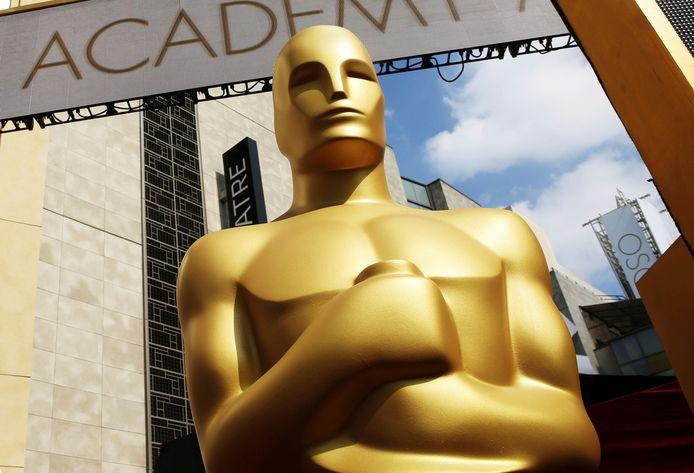 Het Oscarbeeld in Los Angeles.