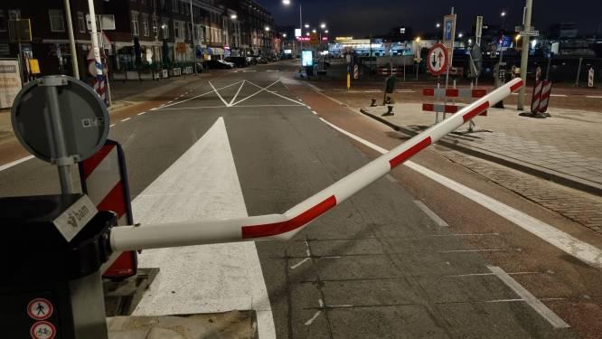 Slagboom aan het einde van boulevard in Scheveningen voor tweede keer kapot gereden