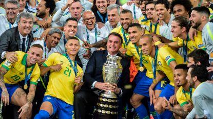 Brazilië viert nog eens feest: 'Goddelijke Kanaries' kloppen Peru en winnen Copa América