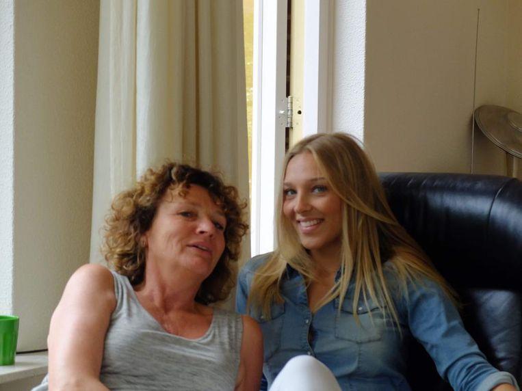 Moeder Renske over het afscheid van haar dochter Menjes Beeld privé