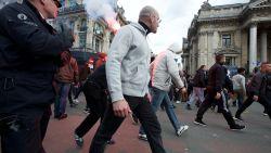 Hooligans verenigen zich en sluiten zich aan bij 'Mars tegen Marrakesh', ook aanvraag ingediend voor tegenbetoging