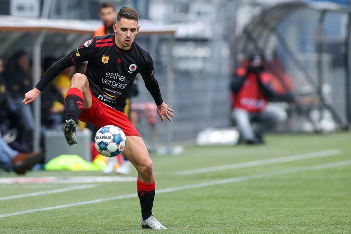 Siebe Horemans is sinds dit seizoen een onbetwiste titularis bij Excelsior Rotterdam.