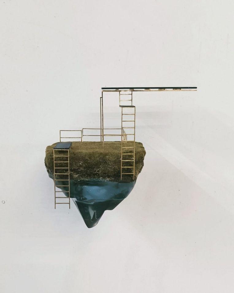 Caroline Van den Eynden - Blue is a Desire (2021), DMW Gallery Beeld GalleryViewer