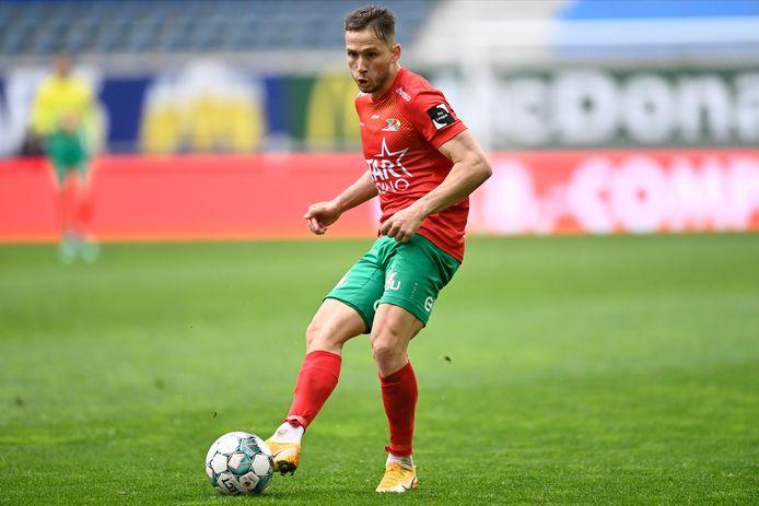 Andrew Hjulsager werd door de fans verkozen tot 'Speler van het Jaar' bij KV Oostende