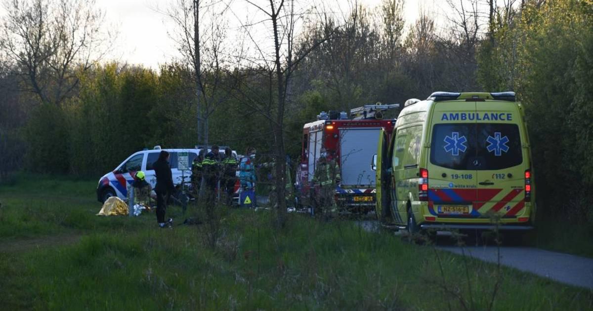 Wielrenner en snorfietser gewond bij botsing in Koudekerke.