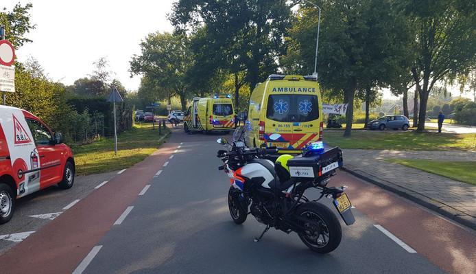 Het ongeval gebeurde op de Lichtenvoortseweg op de kruising met de Leemscherweg in Varsseveld.