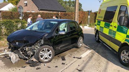 Twee gewonden bij ongeval in Lozer