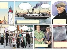 Crowdfunding voor stripboek over droevig lot van enige joodse gezin op Urk: 'Recent nazi-incident laat zien hoe belangrijk dit is'
