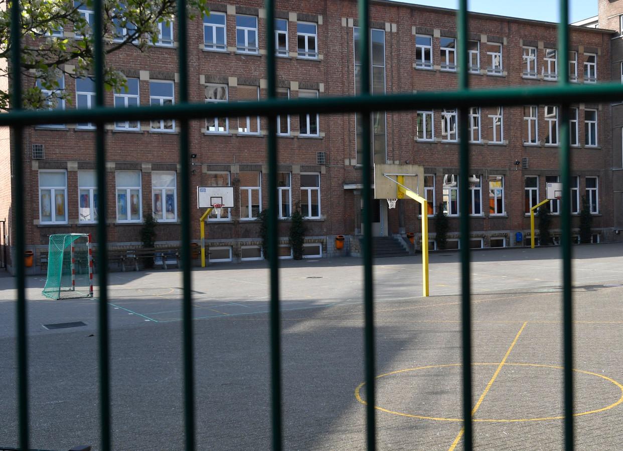École fermée à Bruxelles (archive d'illustration)