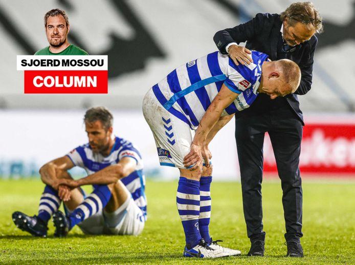 De Graafschap baalt na het mislopen van directe promotie en moet nu de play-offs in, tegen Roda JC.