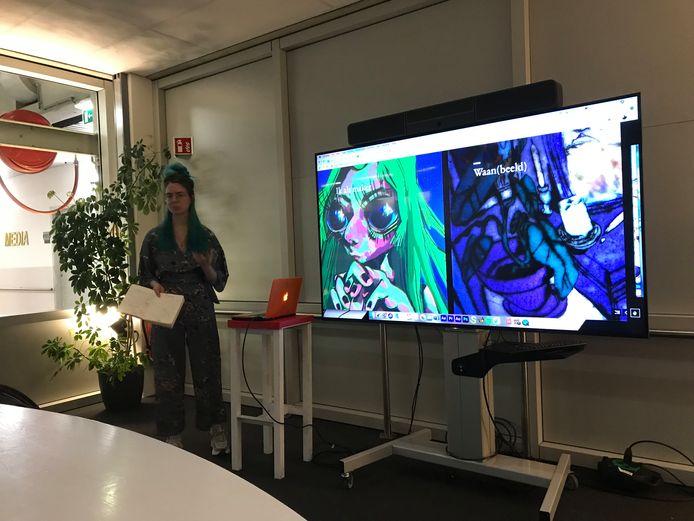 Mackenzie Fincham vertelt over haar animatie Waan(beeld) dat de JBZ Award won.