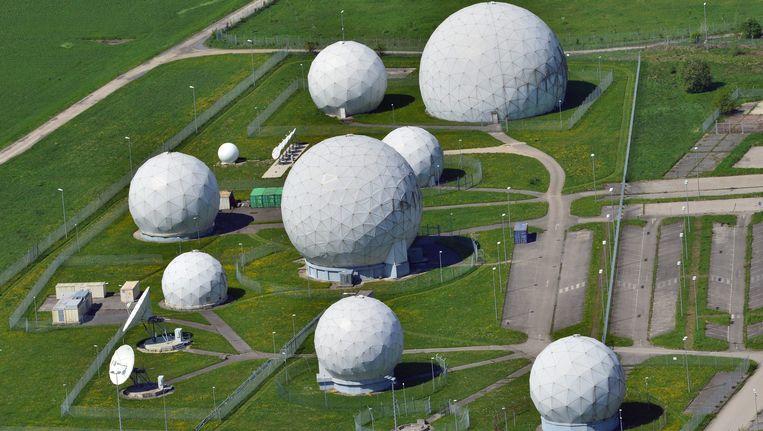 Het NSA-afluisterstation in Bad Aibling. Beeld EPA