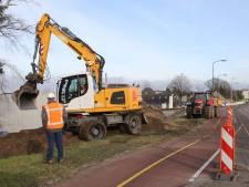 Verkeersoverlast door werk aan de weg in Veldhoven