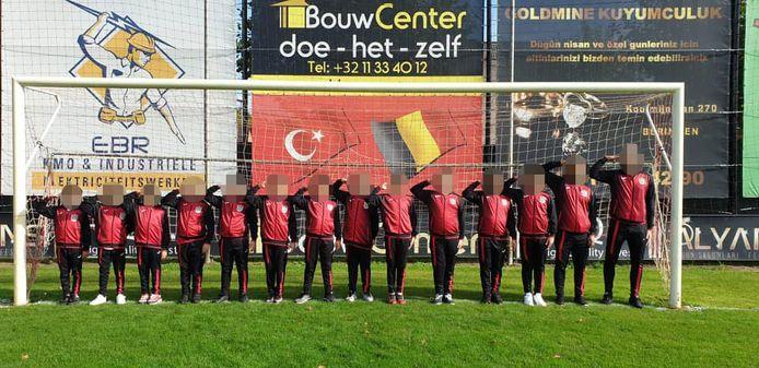 Turkse FC in Beringen.