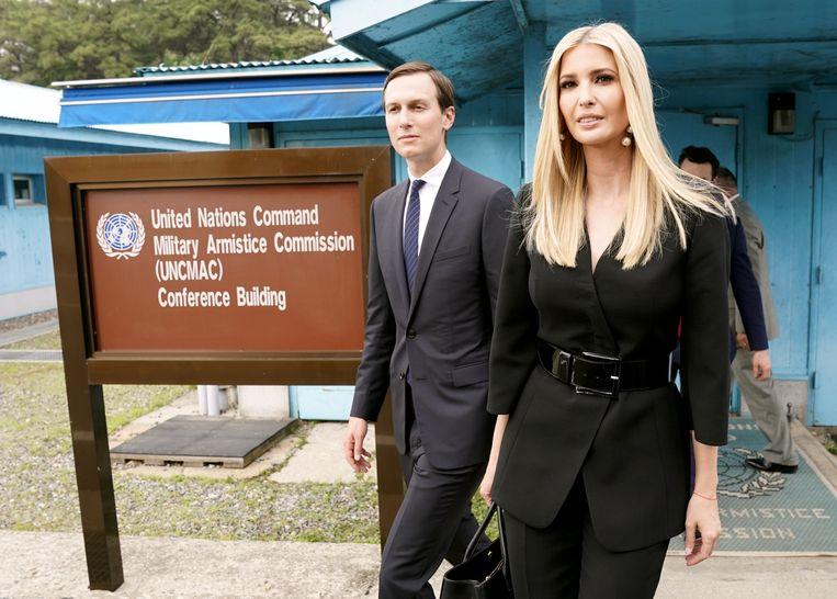 Ivanka Trump en Jared Kushner. Beeld REUTERS