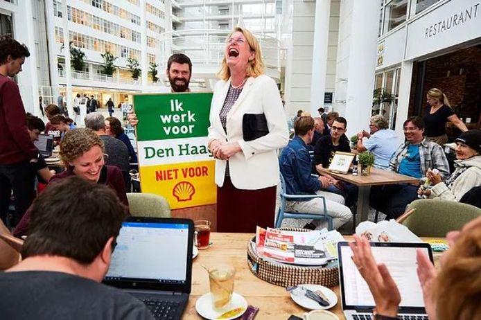 De actie tegen Shell.