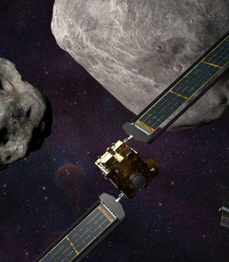 Nasa gaat darten in de ruimte: sonde moet asteroïde een zetje geven