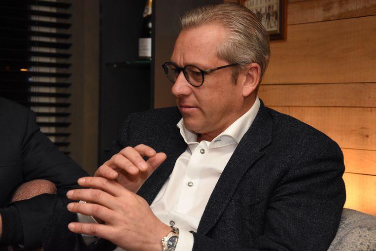 Volleyclub Par-ky Menen is gered - afscheidnemend voorzitter Pierre Vandeputte