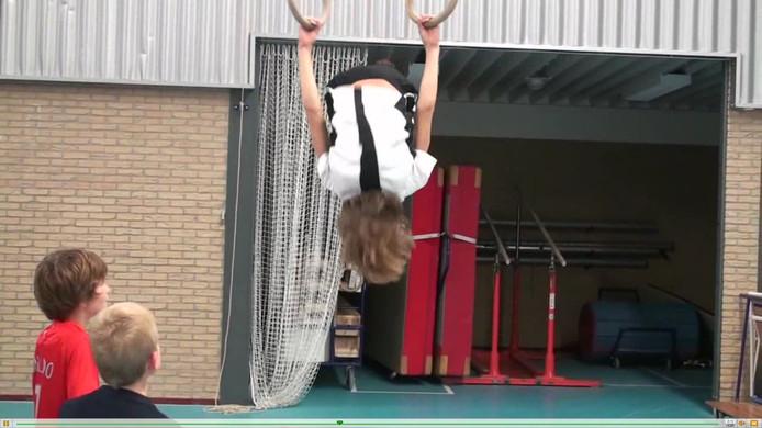 Beeld van een jongenstraining bij De Springbokken.
