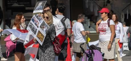 Ook Wit-Russen in Eindhoven de straat op: 'We gaan deze strijd winnen'
