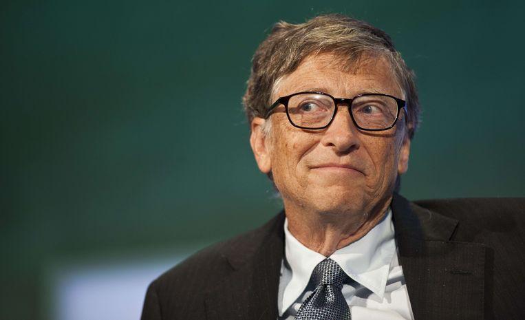 Bill Gates loopt nog zo'n 9,5 miljard dollar op de spanjaard Amancio Ortega Gaona voor. Beeld AFP