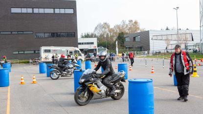 Meer dan 150 motards schaven rijvaardigheden bij in het PIVO