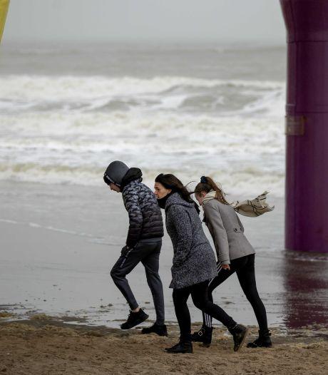 Code geel in kustgebieden wegens zware windstoten tot 80 kilometer per uur