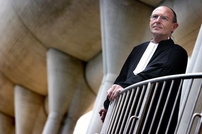 Advocaat Peter van de Laar.