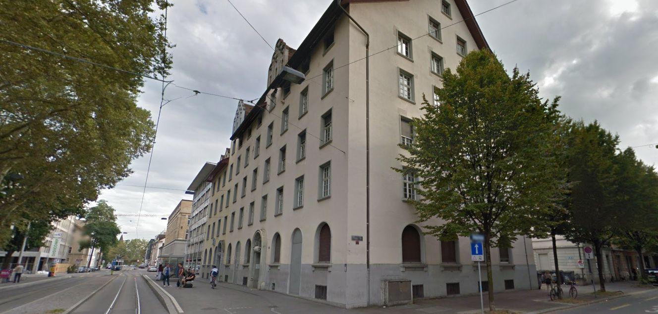 Het gebouw waarin Flamingo Club is gevestigd, te Zürich.