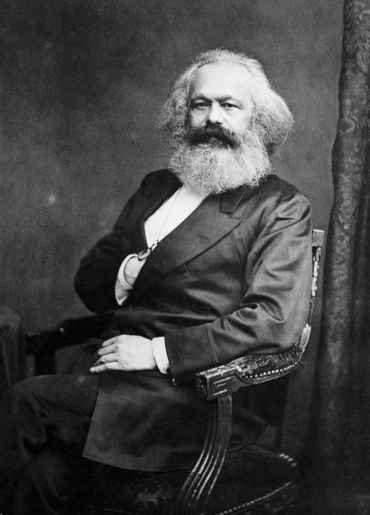 Karl Marx. Beeld rv