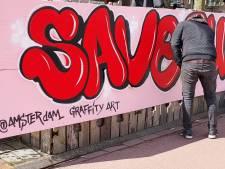 Graffiti-actie voor zieke Ruby: 'Ze wil zo graag zelfstandig leven'