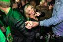 Patty Beekman op de dansvloer van café Bloopers.