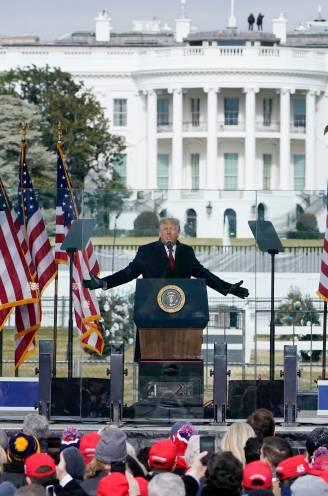 """De speech waarmee Trump zijn aanhangers opruide: """"We zullen de diefstal tegenhouden"""""""