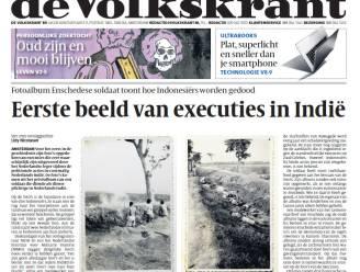 Eerste foto's ooit van executies Nederlands leger in Nederlands-Indië