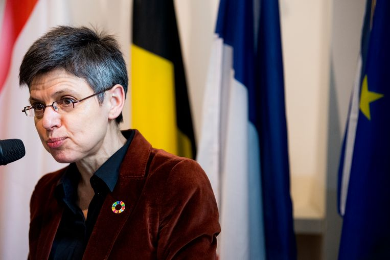Antwerps provinciegouverneur Cathy Berx. Beeld BELGA