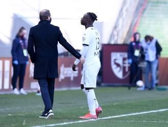 Bewogen middagje voor Doku: Rode Duivel scoort zijn eerste voor Rennes, waarna hij uitgesloten wordt na zware tackle