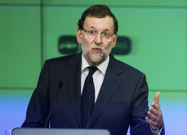 Mariano Rajoy. Beeld REUTERS