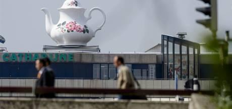 Metershoge theepot in stationsgebied Utrecht komt weer in het zicht te staan