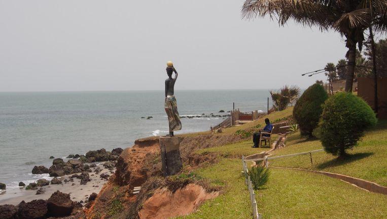 Ngala Lodge aan de kust in Gambia. Beeld TON DAMEN