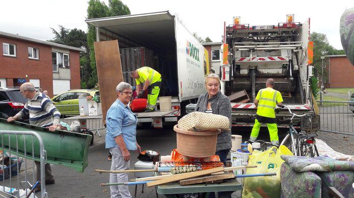 Mobiele recyclageparken trekken weer rond