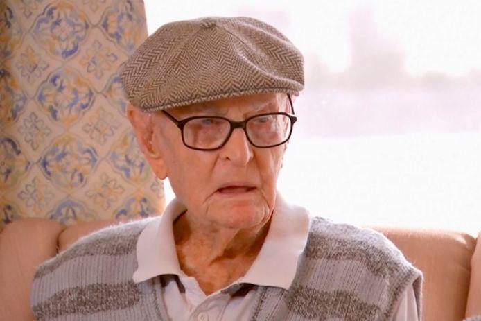 Dexter Kruger, de oudste Australische man.