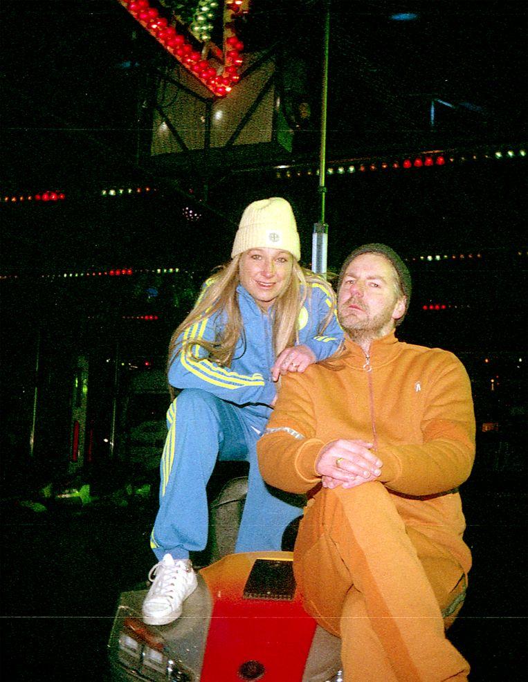 Met Freddy Tratlehner, alias Vieze Fur. Beeld Elza Jo
